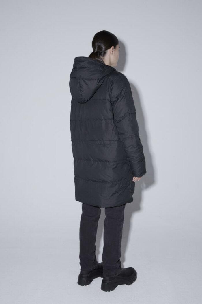 Abrigo HEAT/04 | Coal black