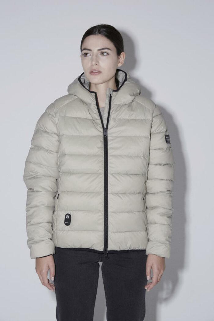 Chaqueta con capucha HEAT/01 | Light Matcha