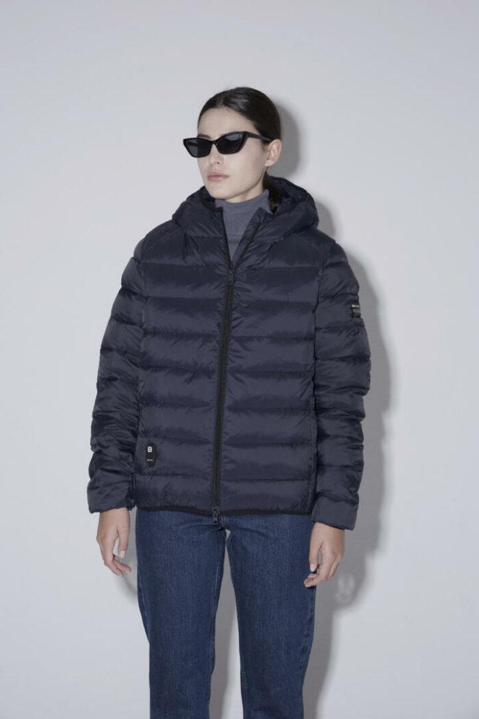 Chaqueta con capucha HEAT/01 | Space Blue