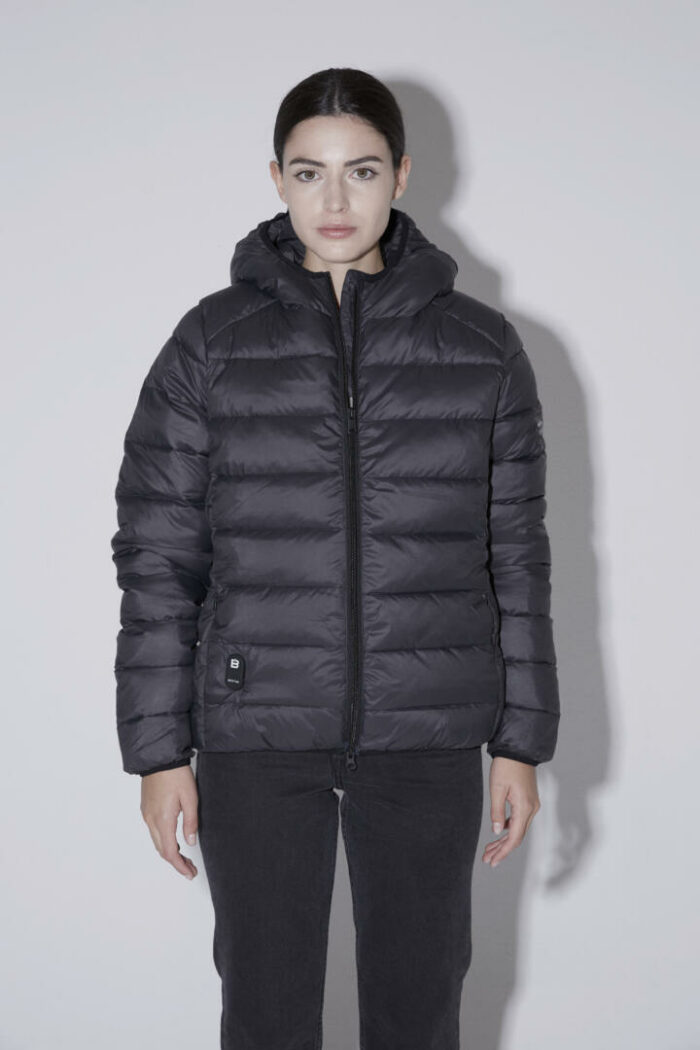 Chaqueta con capucha HEAT/01 | Midnight Grey