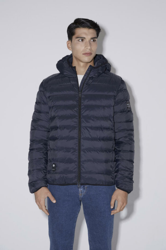 Chaqueta con capucha HEAT/01 | Blue Navy