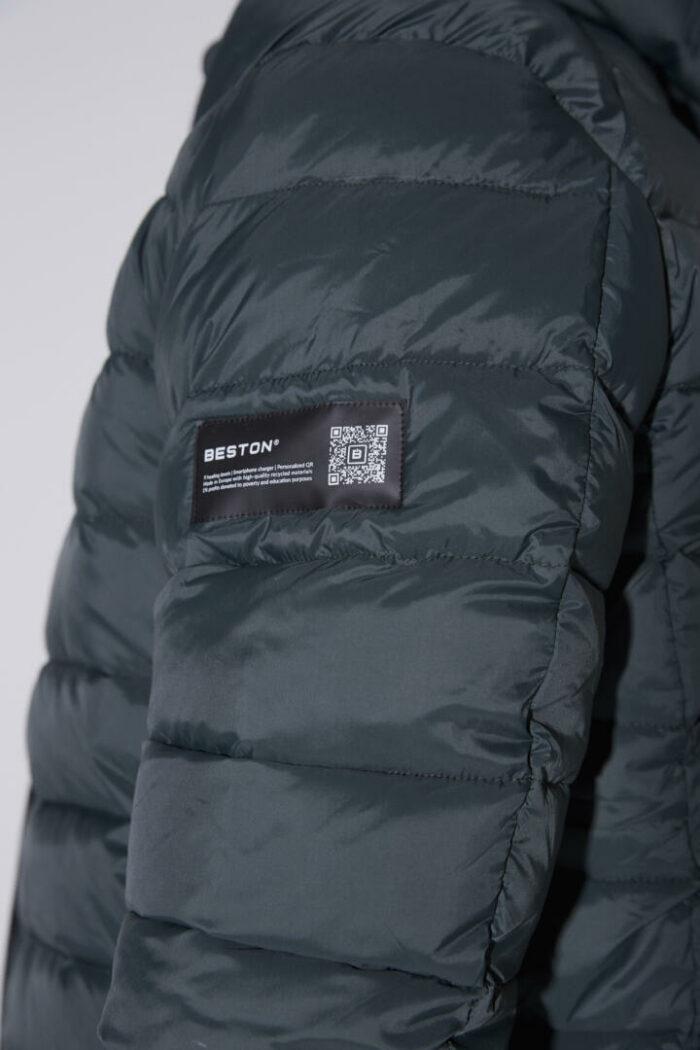 Chaqueta con capucha HEAT/01 | Forest Green